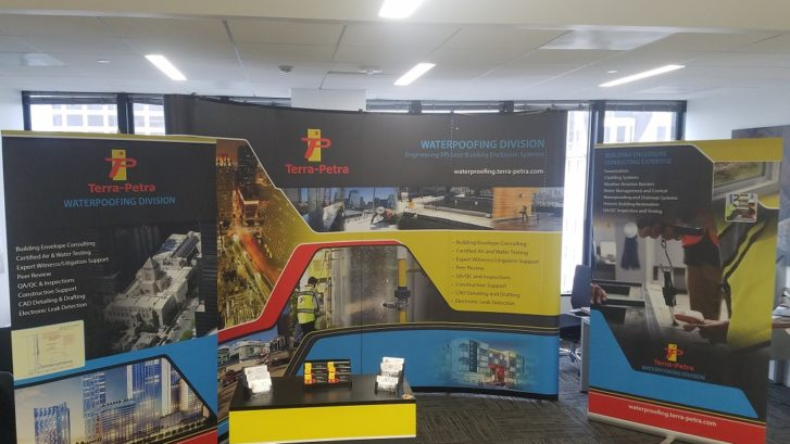 The Terra-Petra Waterproofing Division team will be exhibiting at the RCI Trade Show Exhibit in Houston