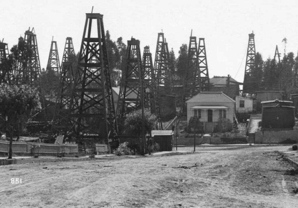 Los Angeles was an oil town